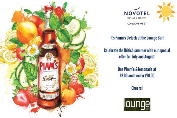 Celebrate Summer at the Lounge Bar!