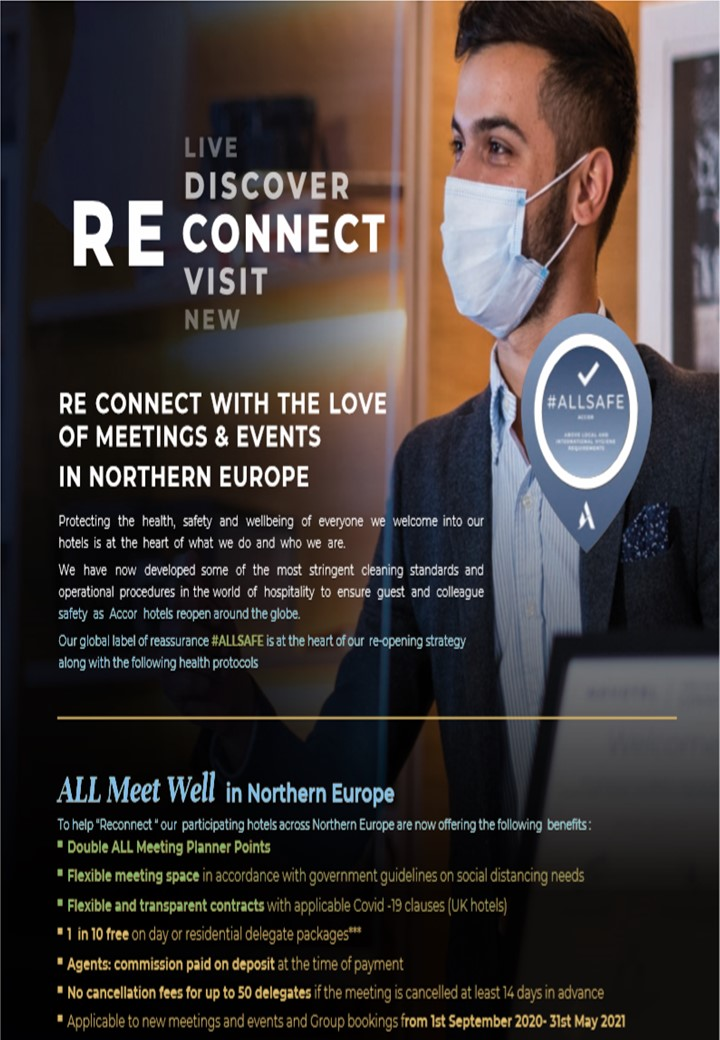 RE CONNECT WITH THE LOVE OF MEETING & EVENTS